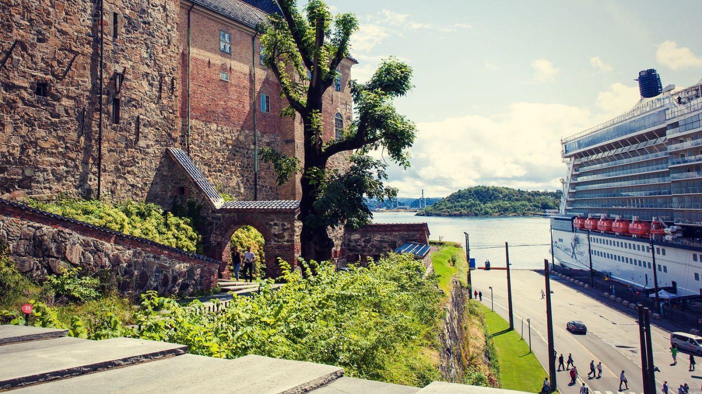 挪威奥塞罗,旧城新港一览无余_图1-16
