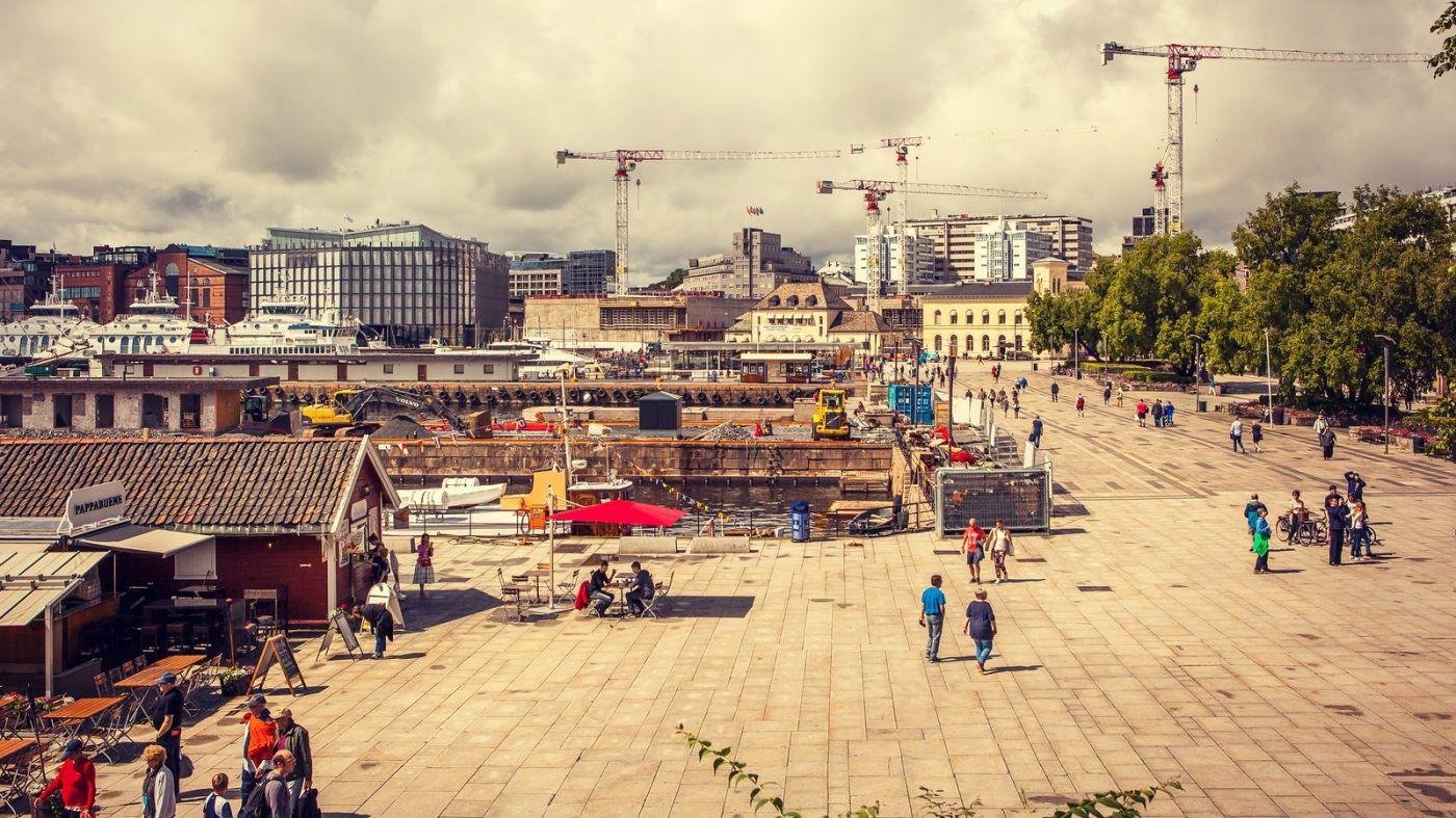 挪威奥塞罗,旧城新港一览无余_图1-15
