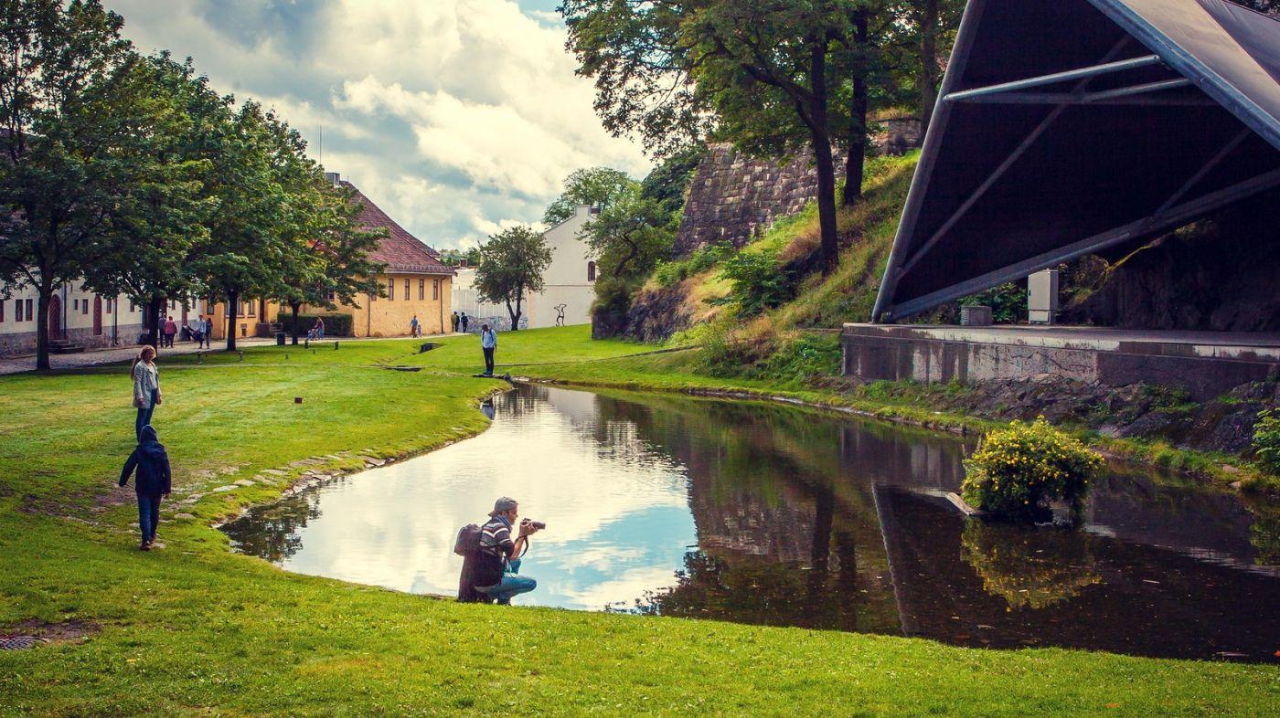 挪威奥塞罗,旧城新港一览无余_图1-8