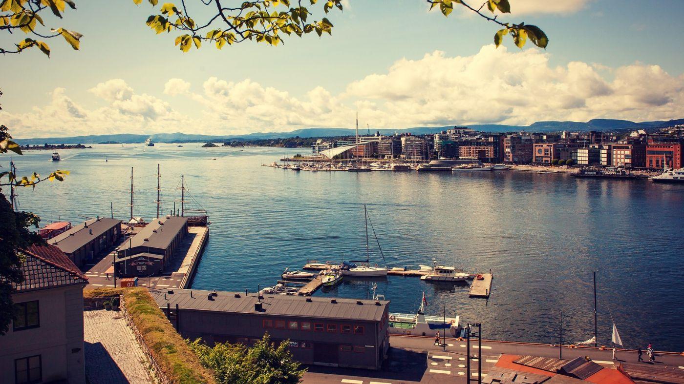 挪威奥塞罗,旧城新港一览无余_图1-6