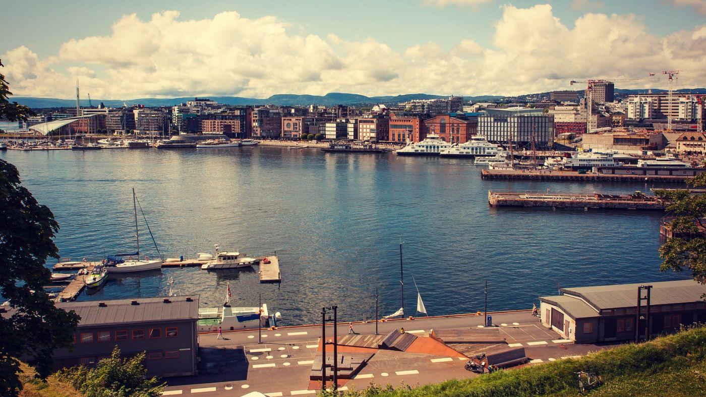 挪威奥塞罗,旧城新港一览无余_图1-4