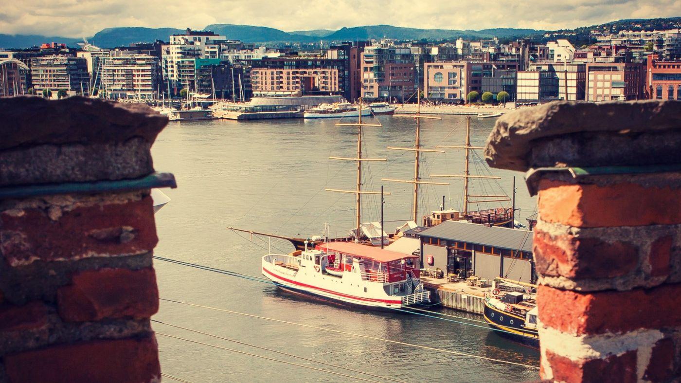 挪威奥塞罗,旧城新港一览无余_图1-3