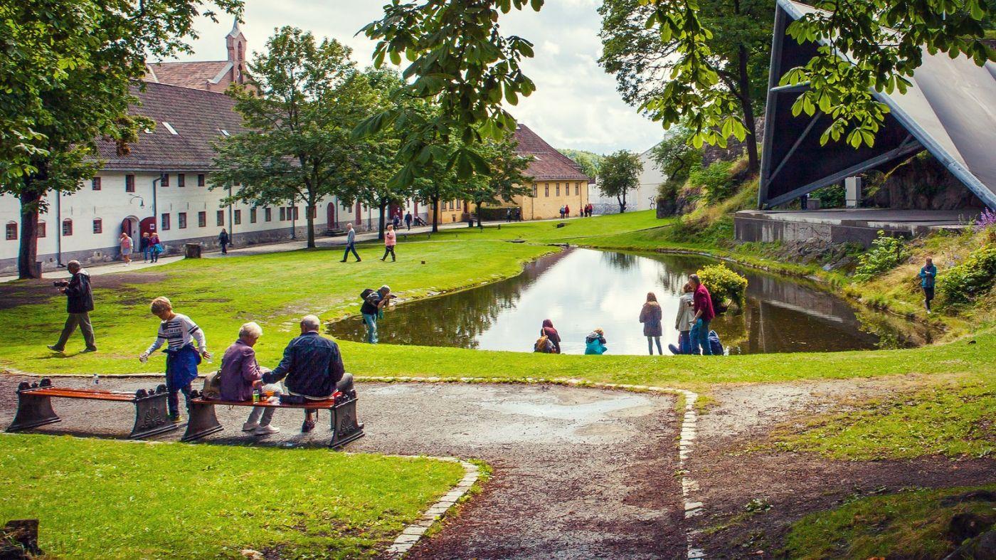挪威奥塞罗,旧城新港一览无余_图1-25