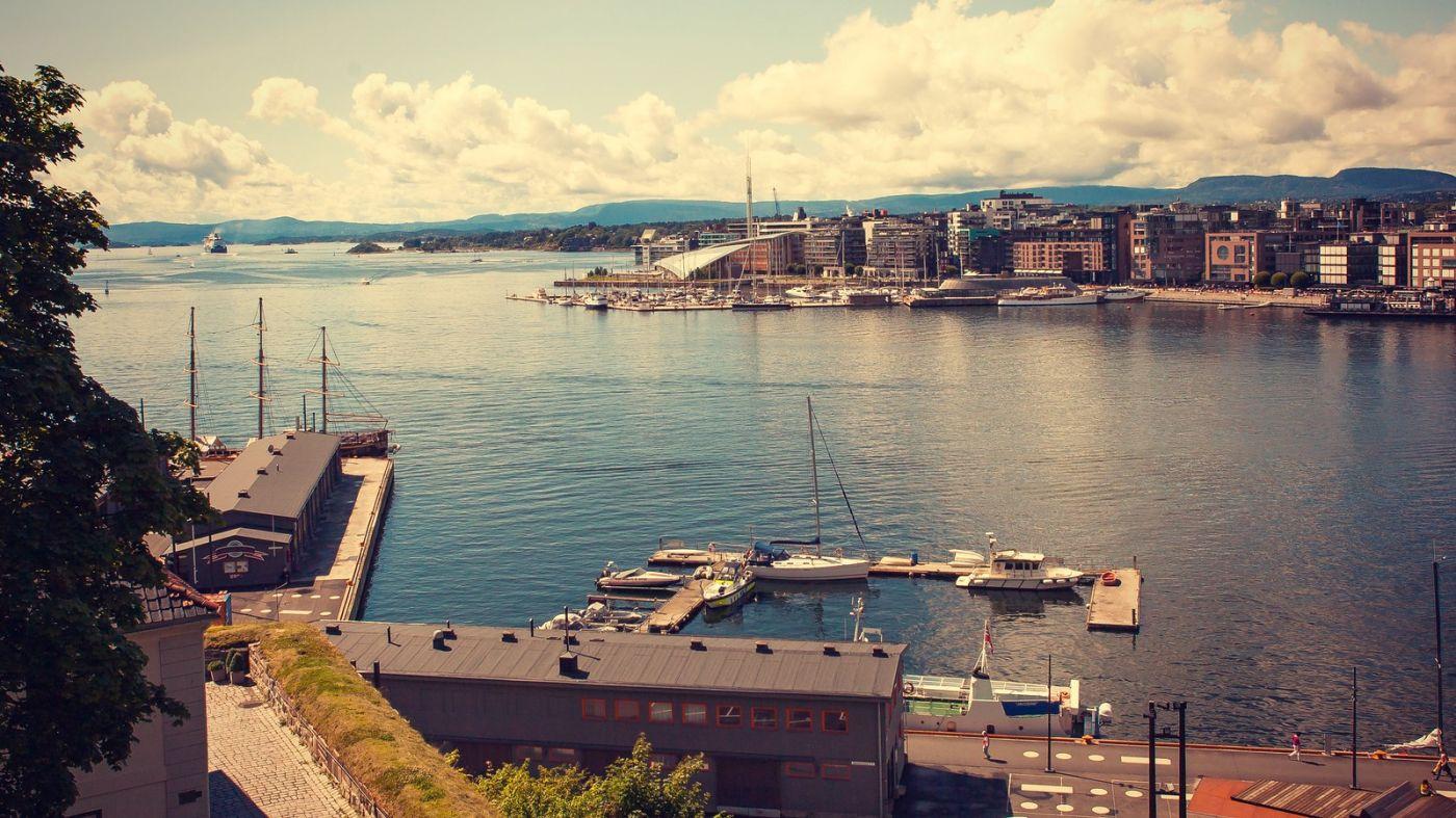 挪威奥塞罗,旧城新港一览无余_图1-31