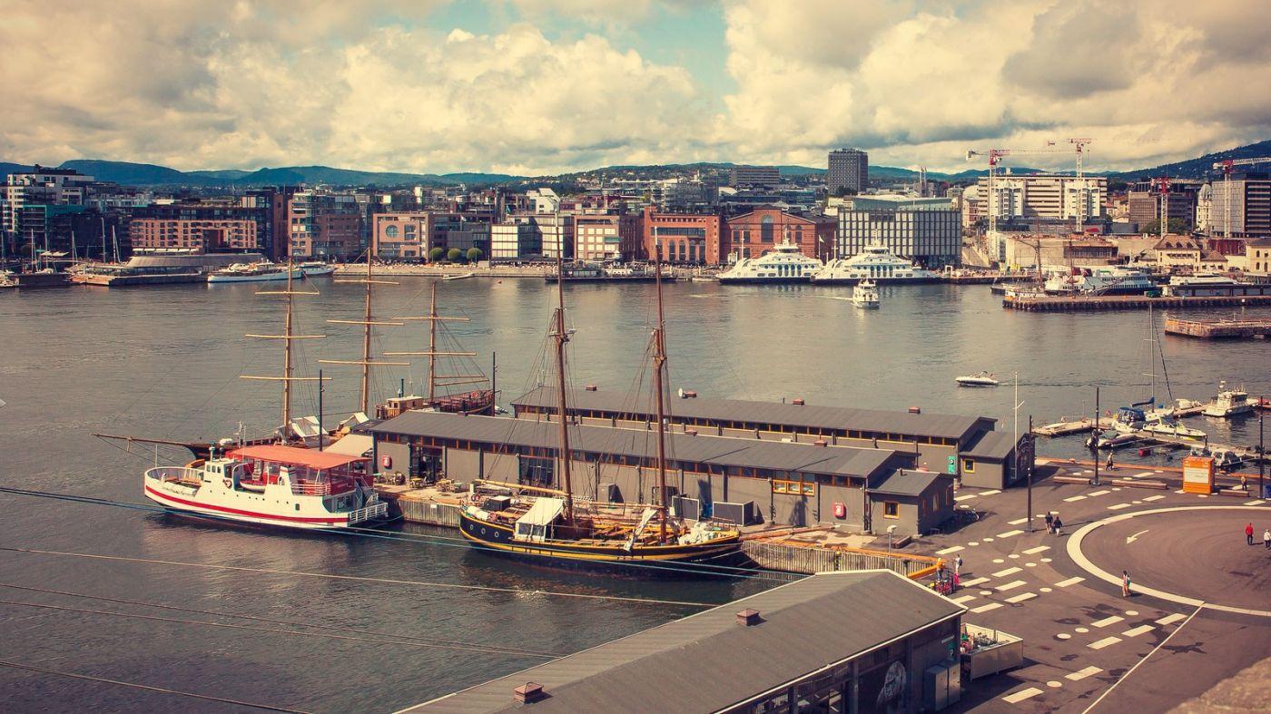 挪威奥塞罗,旧城新港一览无余_图1-33