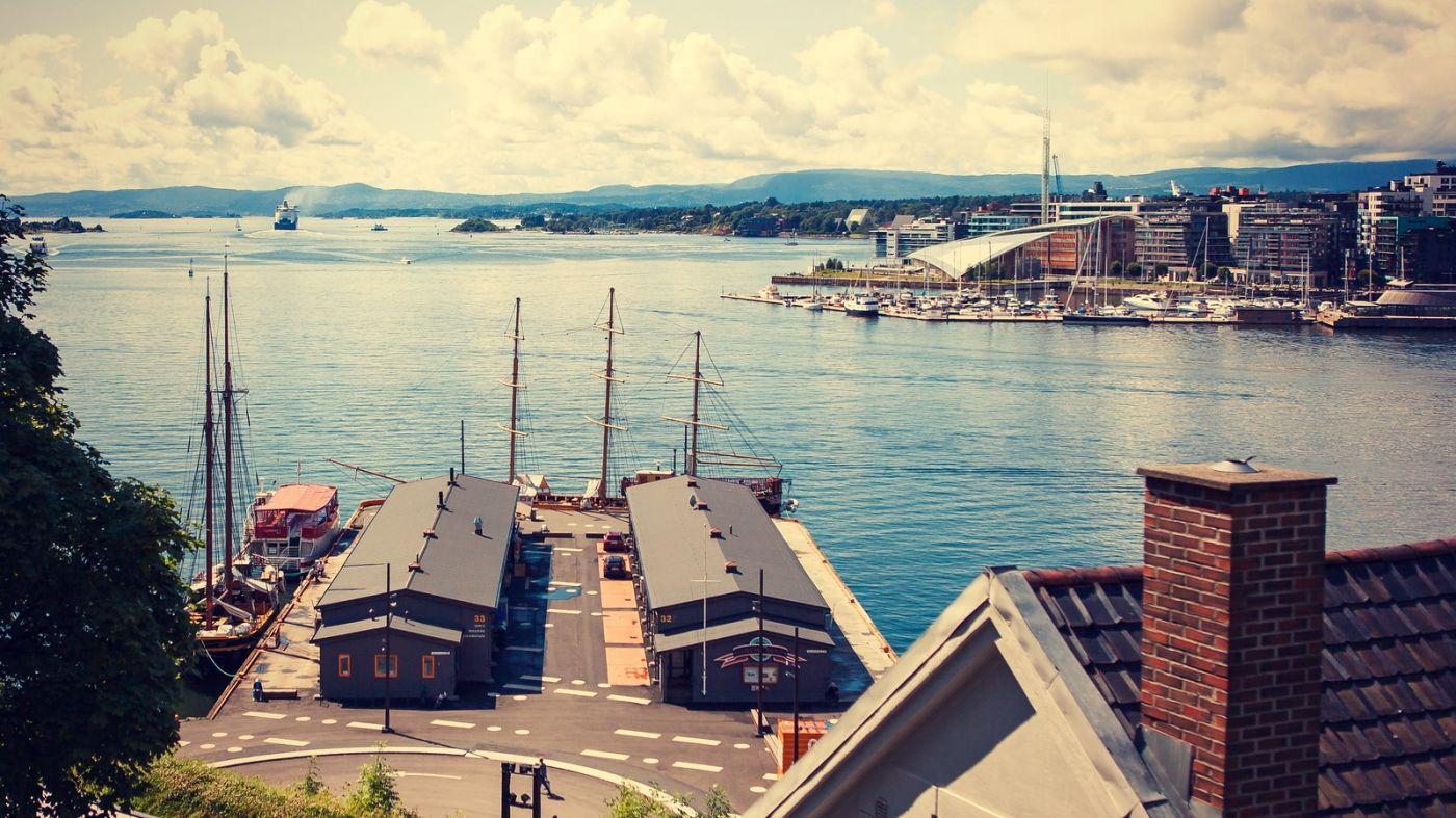 挪威奥塞罗,旧城新港一览无余_图1-34