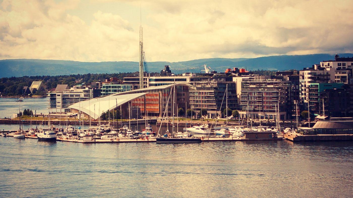 挪威奥塞罗,旧城新港一览无余_图1-35