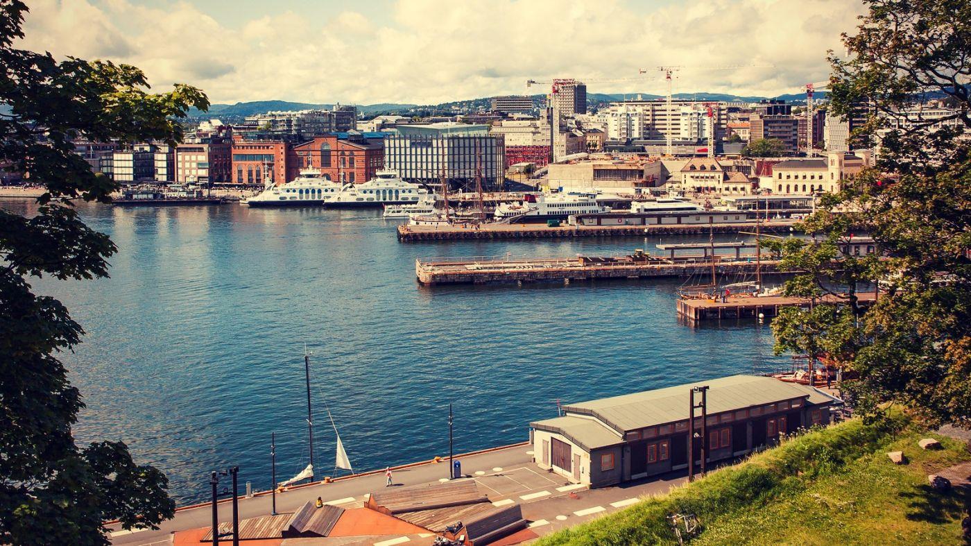 挪威奥塞罗,旧城新港一览无余_图1-37