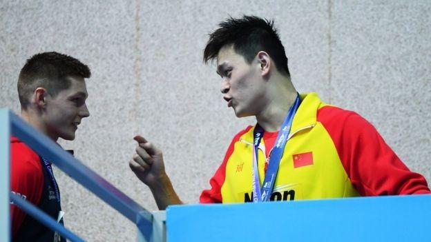 中国游泳名将孙杨应不应该受到歧视_图1-1