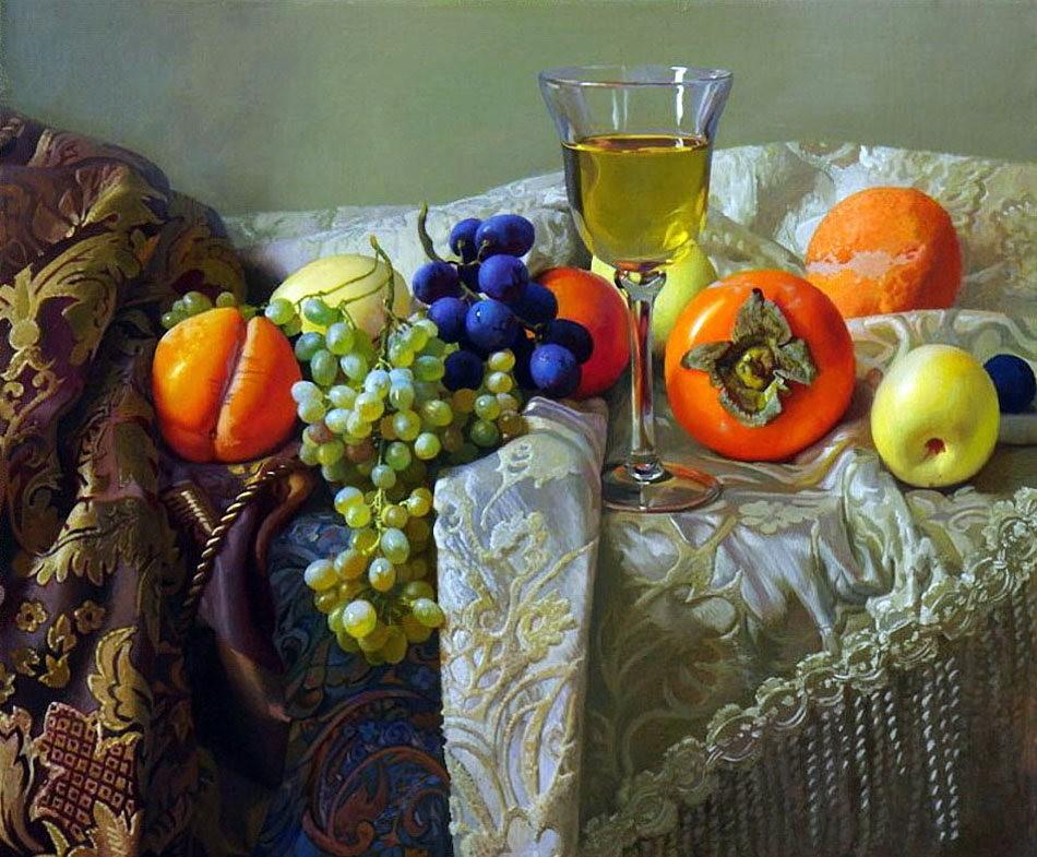 俄罗斯静物画家Alexander Saidov_图1-20