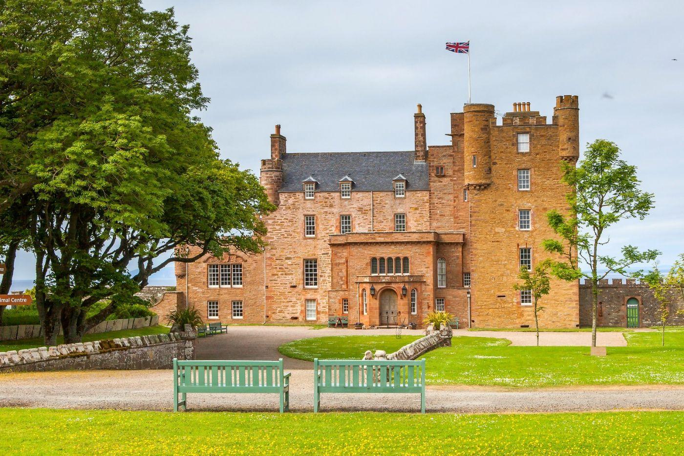 苏格兰梅城堡(Castle of Mey),五百年历史_图1-35
