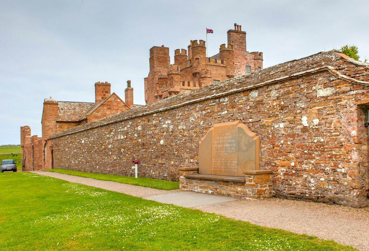 苏格兰梅城堡(Castle of Mey),五百年历史_图1-34