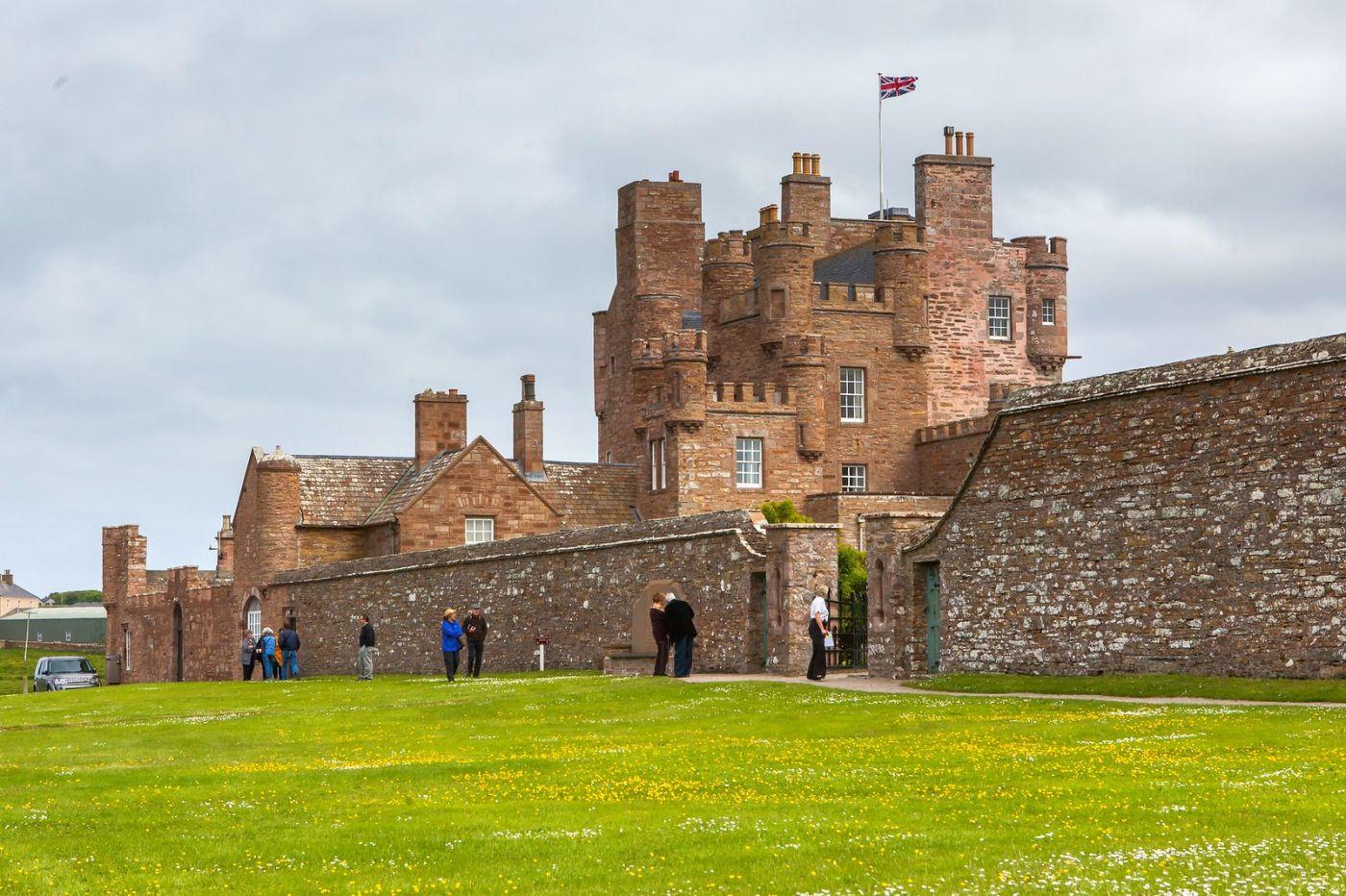 苏格兰梅城堡(Castle of Mey),五百年历史_图1-26