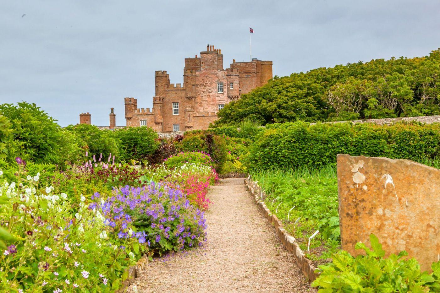 苏格兰梅城堡(Castle of Mey),五百年历史_图1-9
