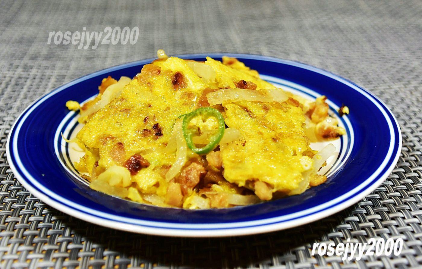 洋葱菜脯炒蛋_图1-1