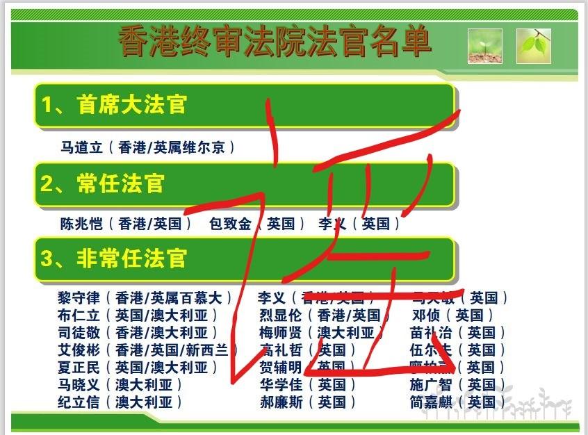 """左谣""""香港两院法官都是外国人""""_图1-1"""