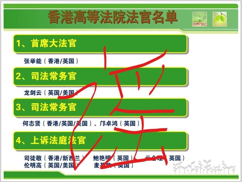 """左谣""""香港两院法官都是外国人""""_图1-2"""