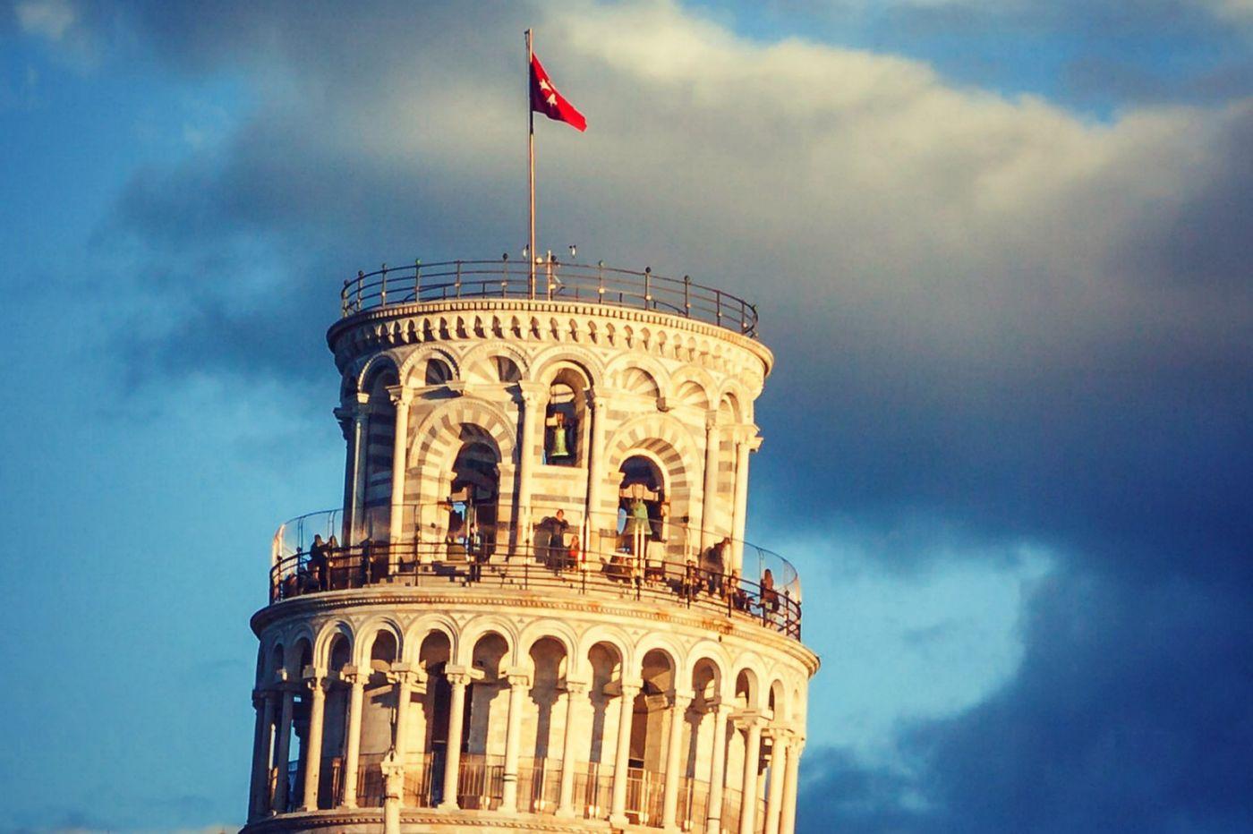 意大利比萨斜塔,塔旁的建筑群_图1-13