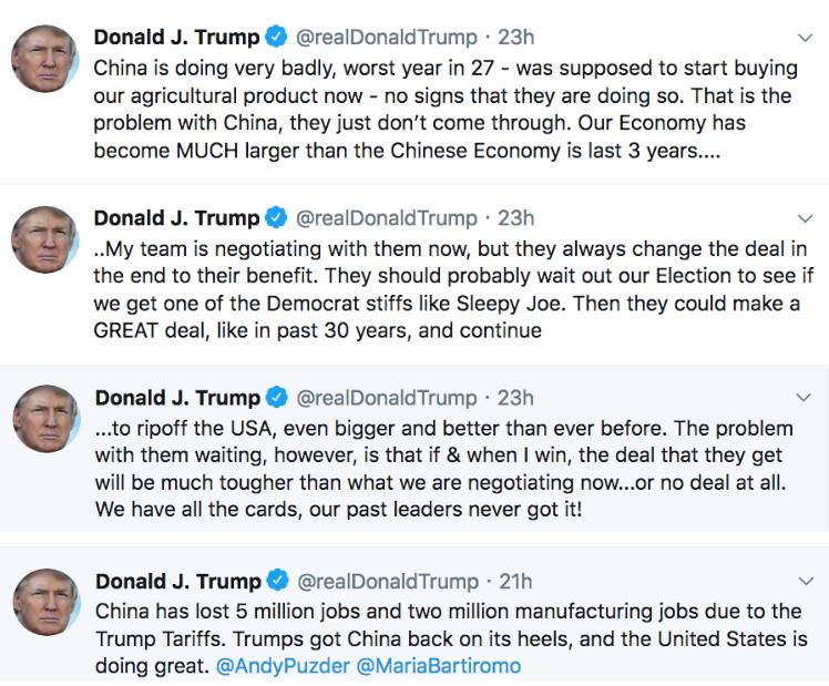 中美贸易谈判只谈了一天就匆匆收场_图1-2