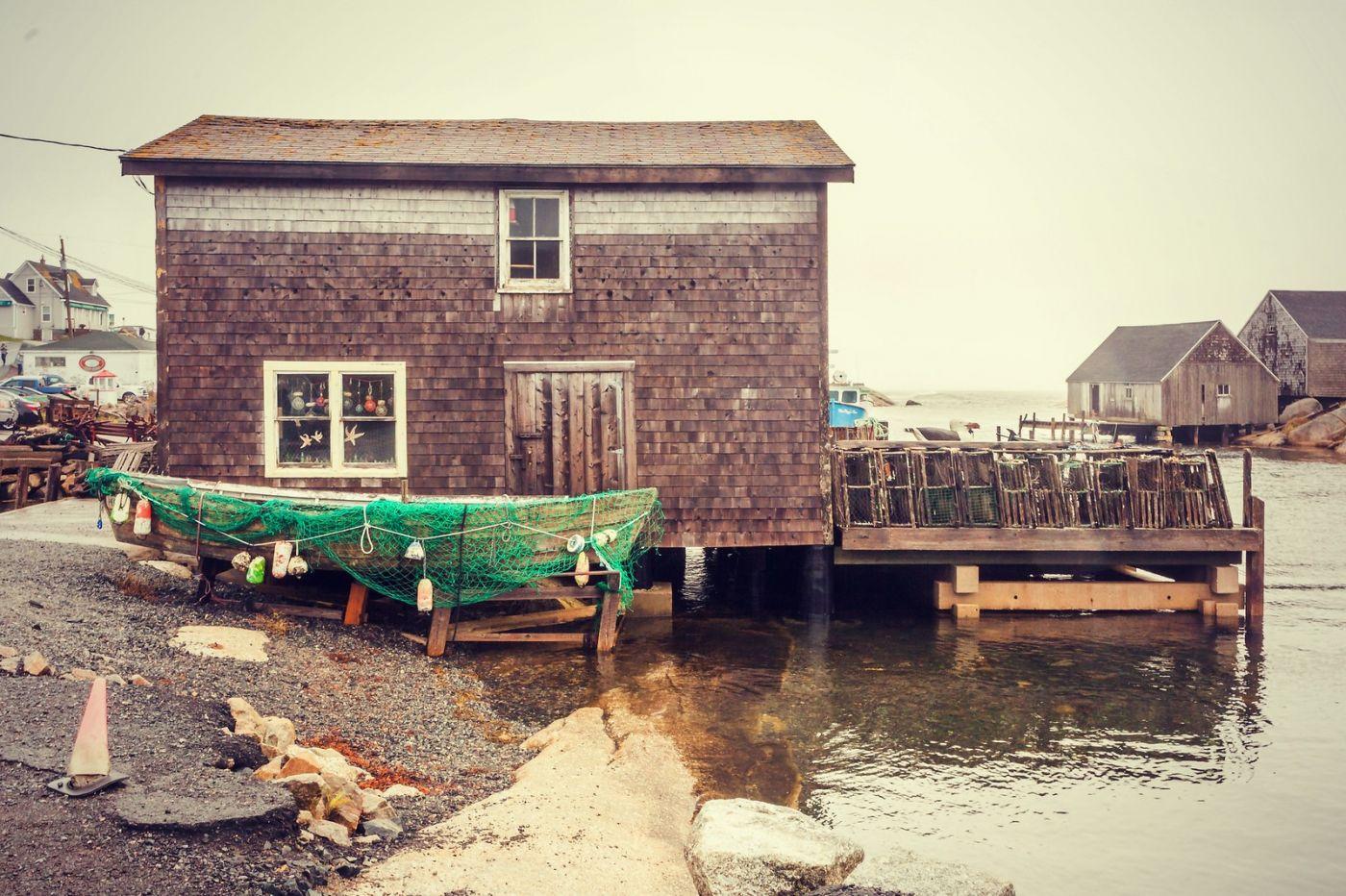 加拿大佩吉海湾(Peggy\'s Cove),小渔村的所见所闻_图1-29