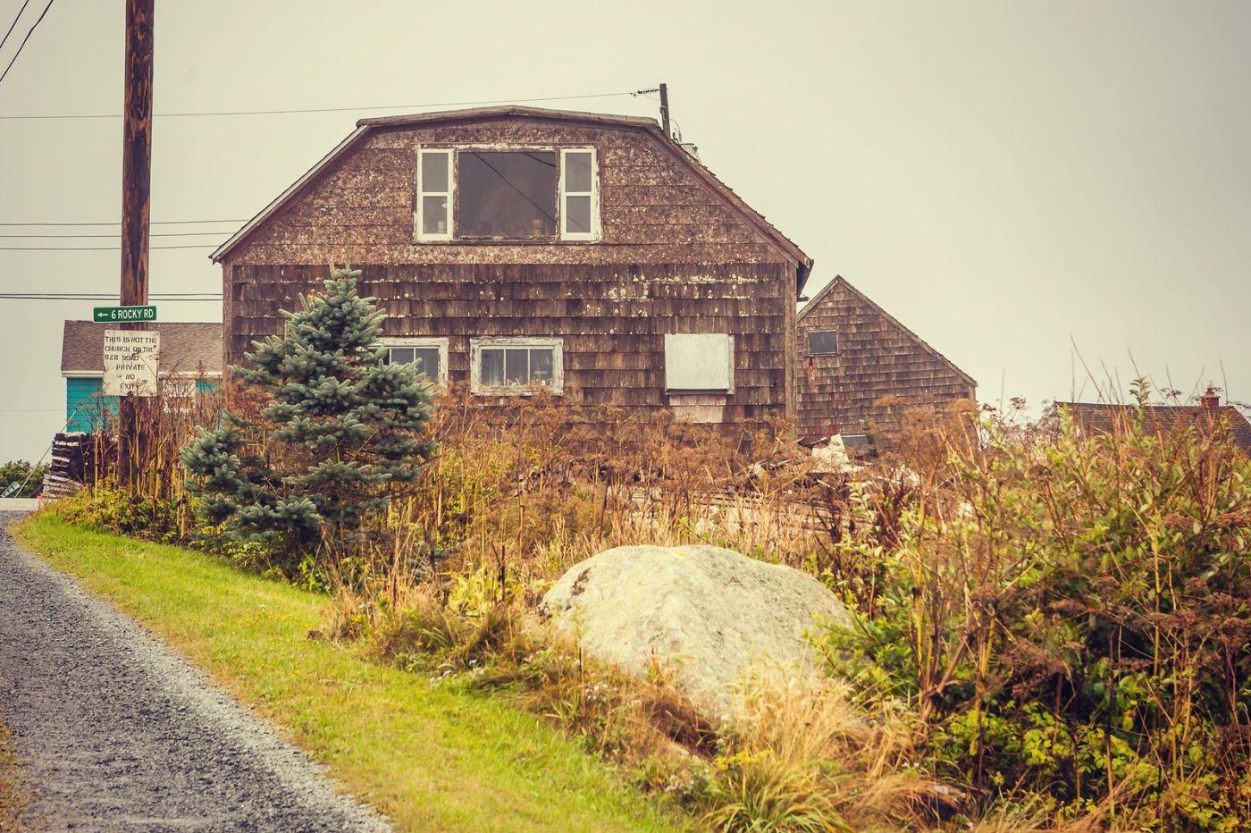 加拿大佩吉海湾(Peggy\'s Cove),小渔村的所见所闻_图1-17