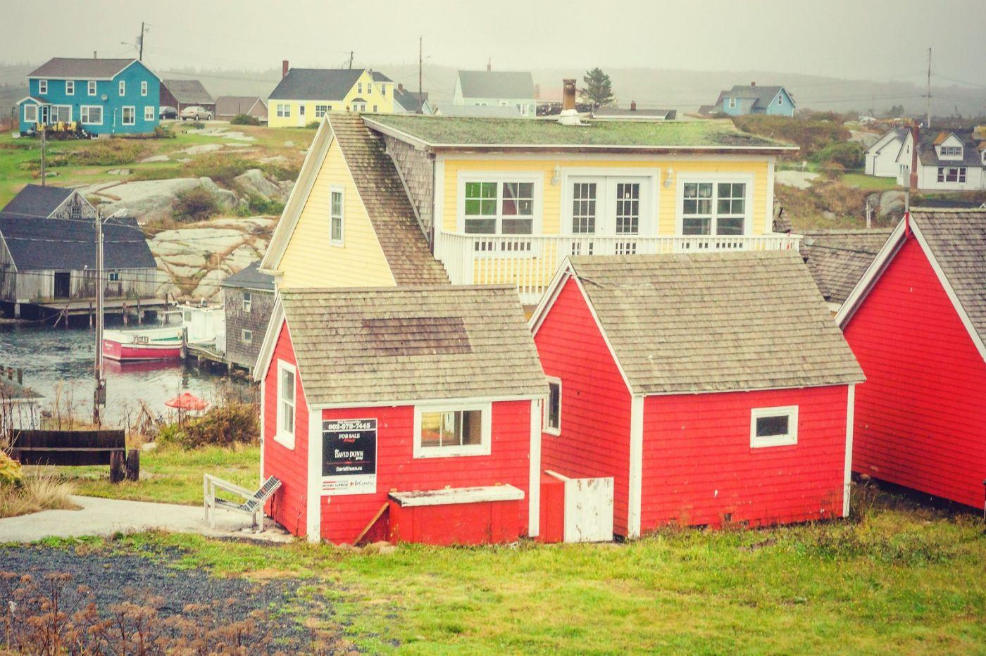 加拿大佩吉海湾(Peggy\'s Cove),小渔村的所见所闻_图1-13