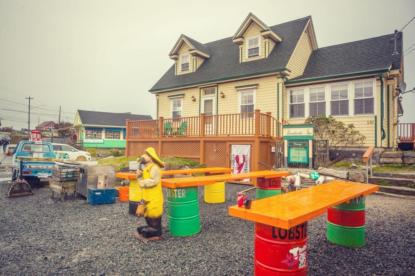 加拿大佩吉海湾(Peggy\'s Cove),小渔村的所见所闻_图1-11