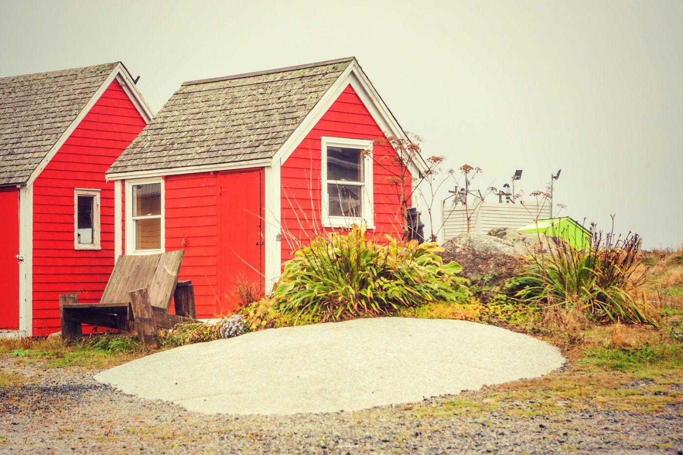 加拿大佩吉海湾(Peggy\'s Cove),小渔村的所见所闻_图1-4