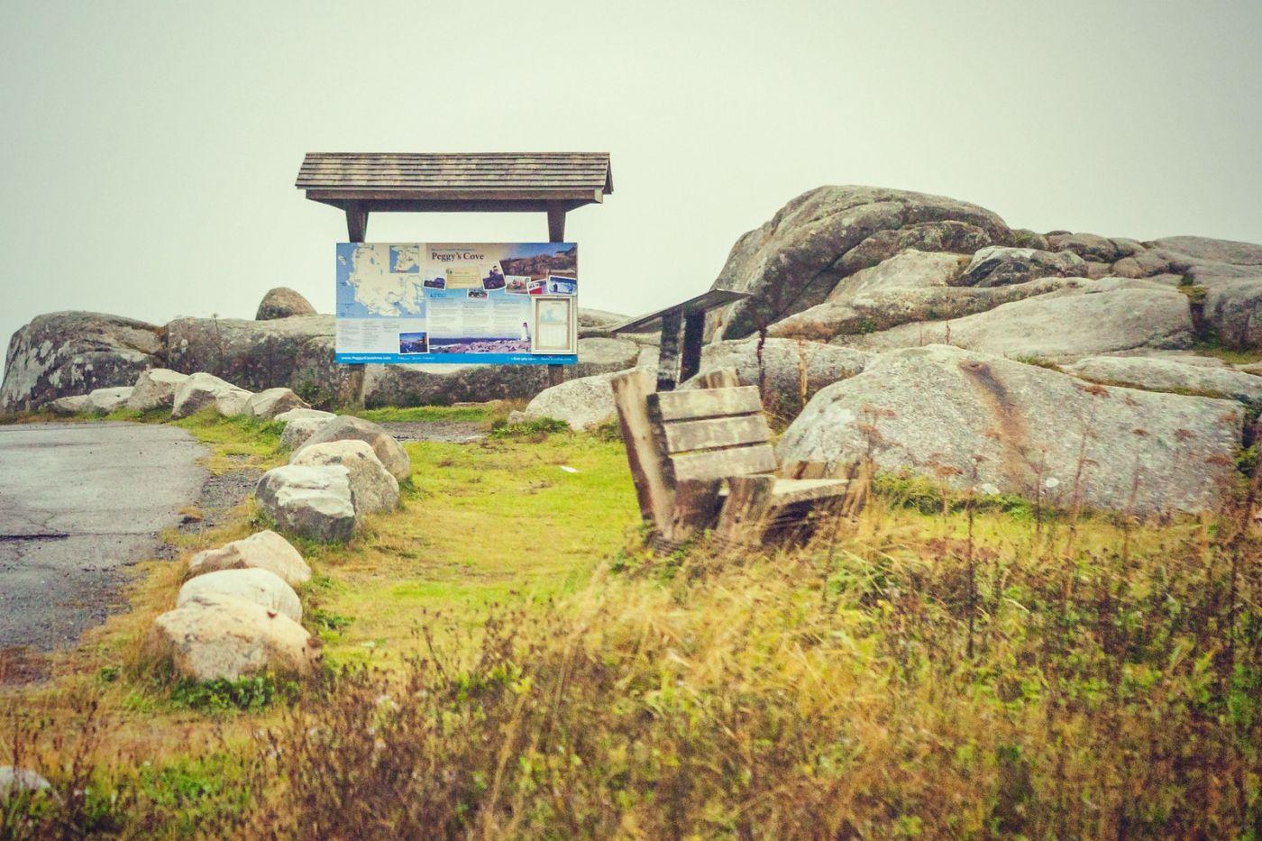 加拿大佩吉海湾(Peggy\'s Cove),小渔村的所见所闻_图1-2