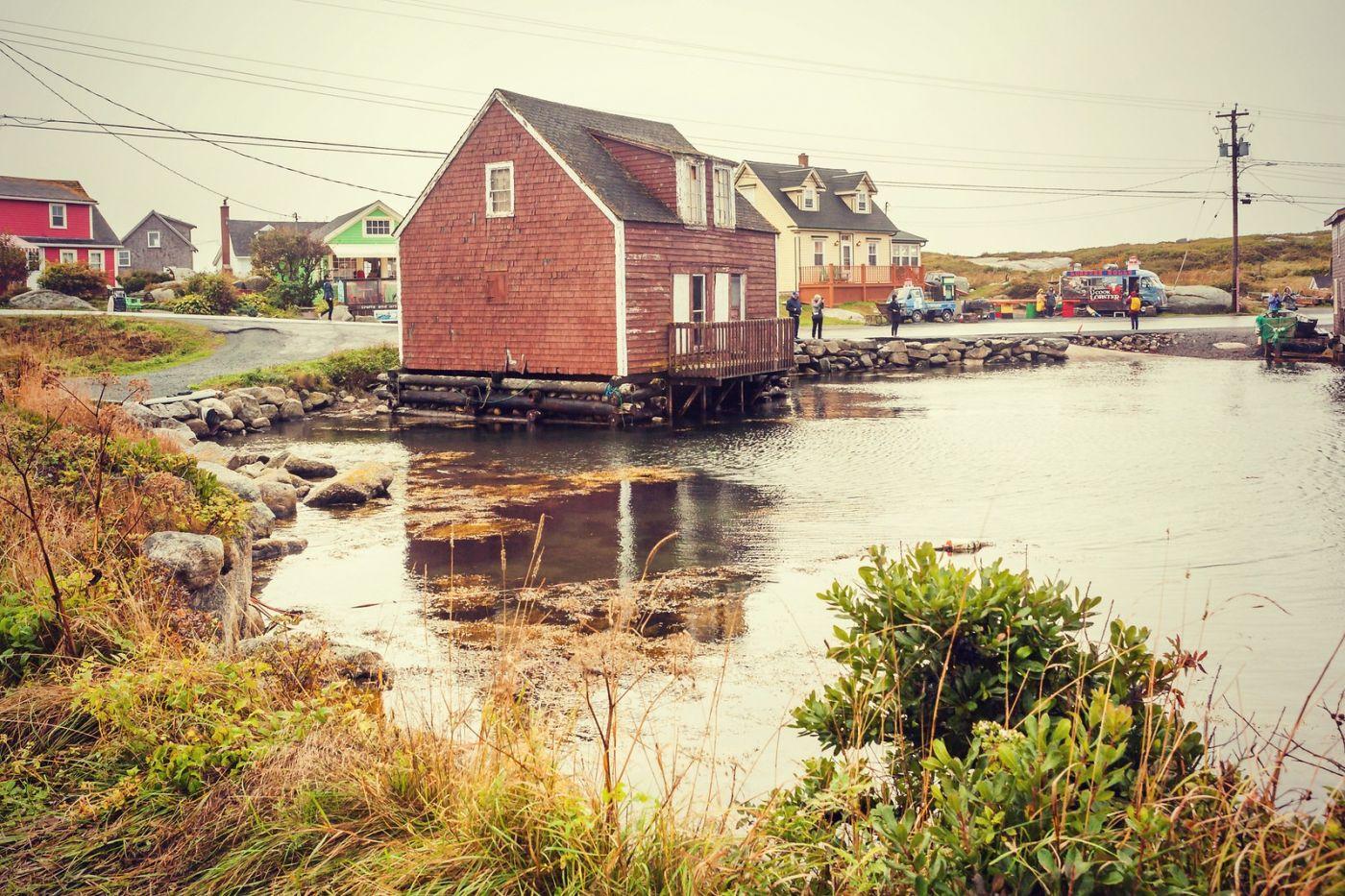 加拿大佩吉海湾(Peggy\'s Cove),小渔村的所见所闻_图1-1