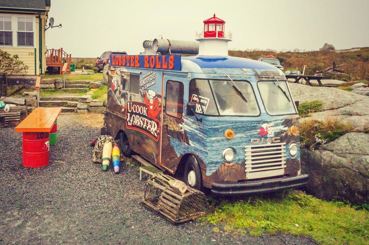 加拿大佩吉海湾(Peggy\'s Cove),小渔村的所见所闻_图1-5