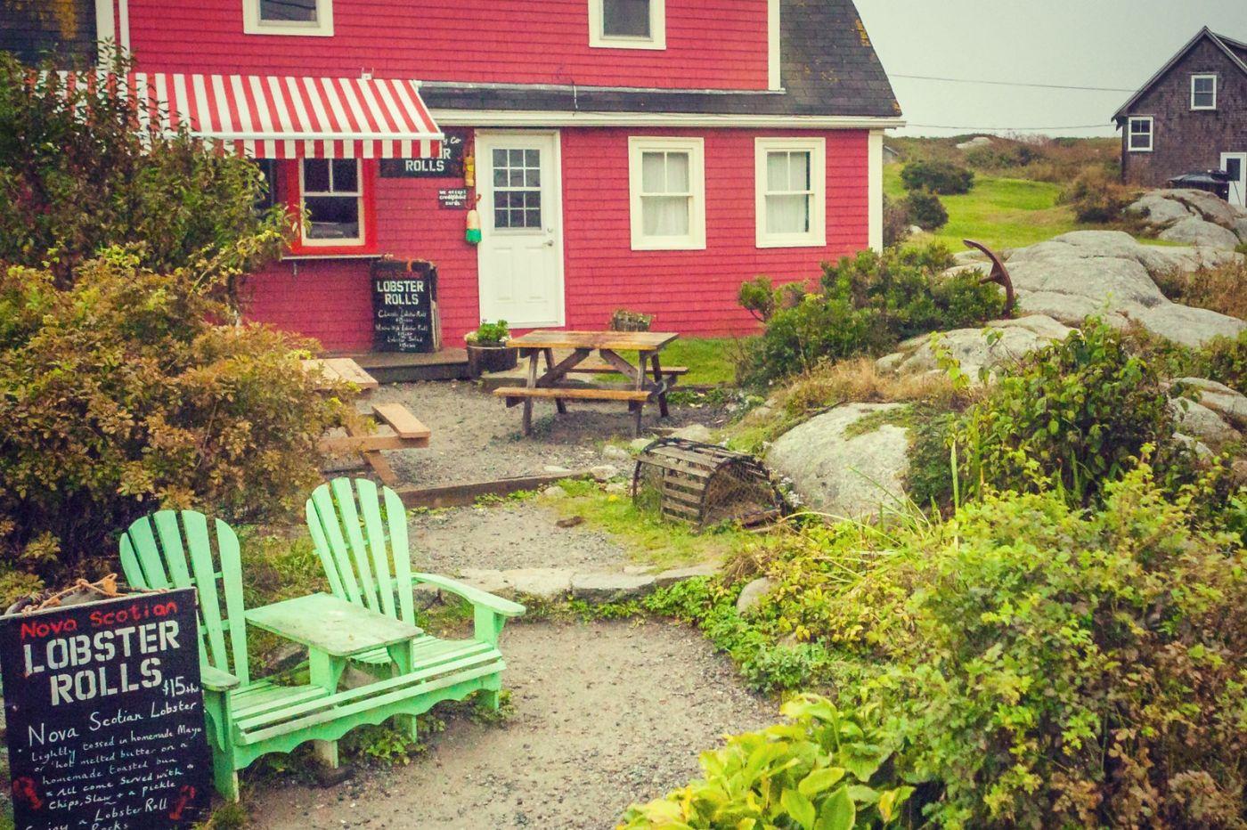 加拿大佩吉海湾(Peggy\'s Cove),小渔村的所见所闻_图1-6