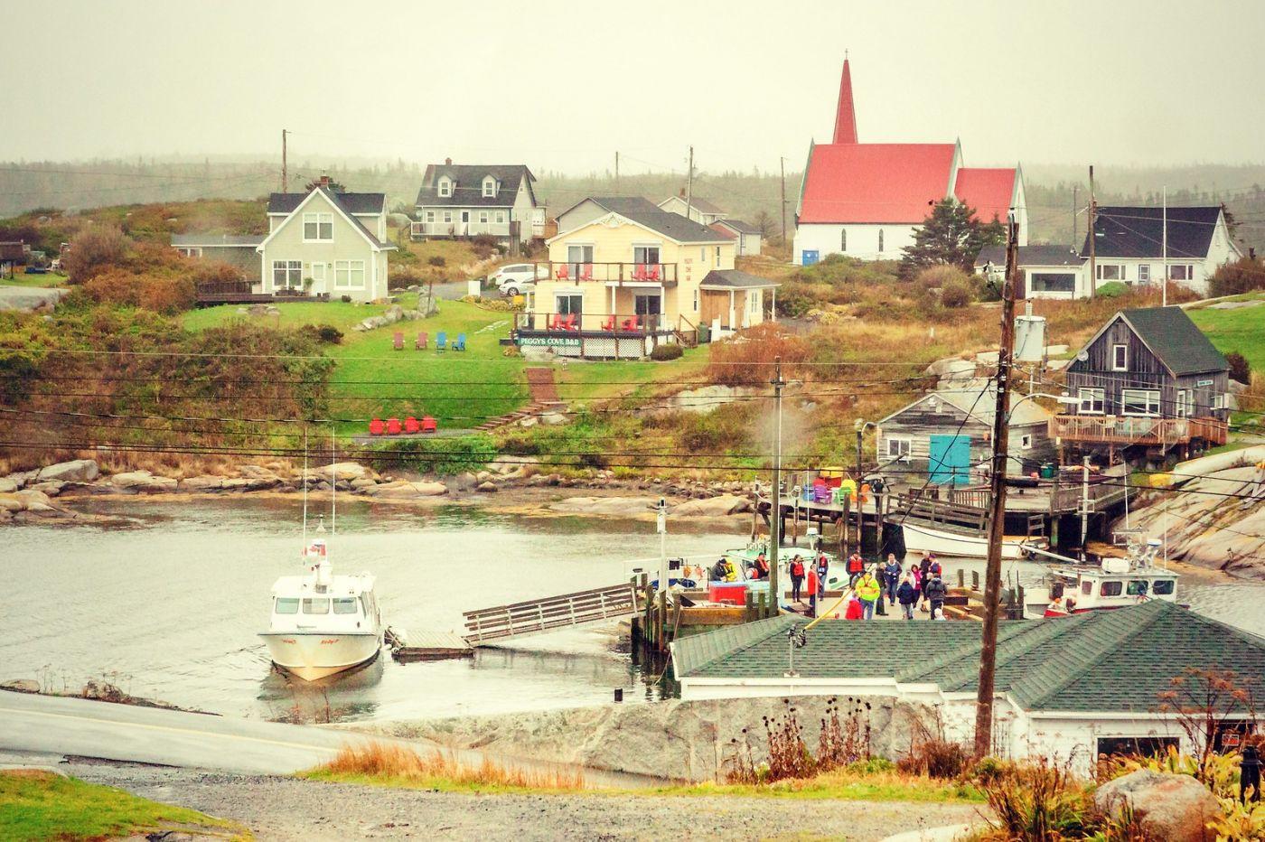 加拿大佩吉海湾(Peggy\'s Cove),小渔村的所见所闻_图1-7
