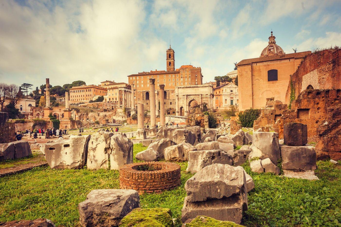 意大利罗马论坛,很敬佩_图1-1