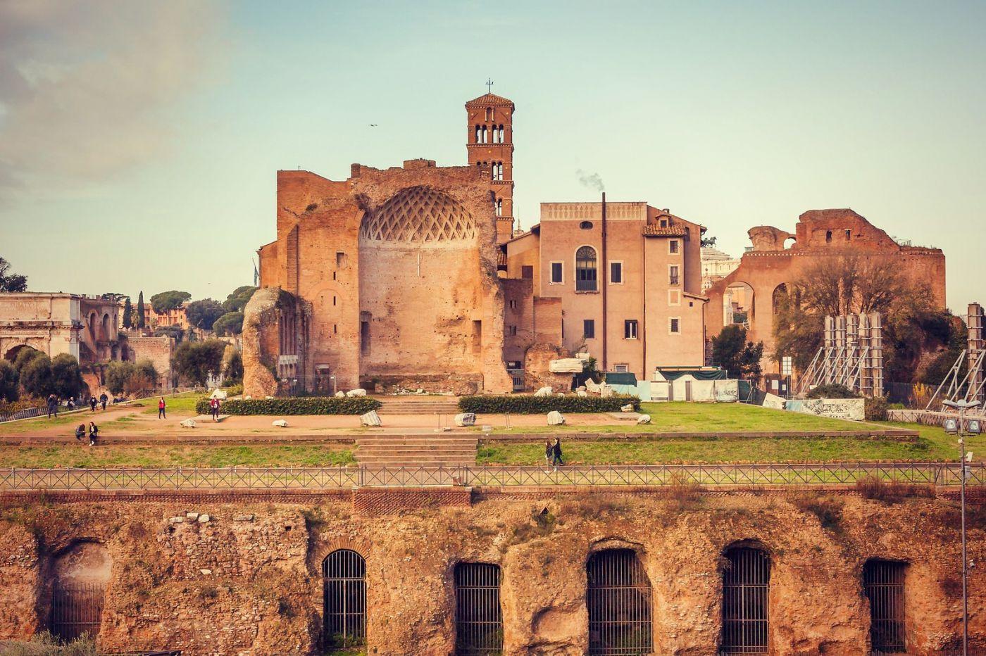意大利罗马论坛,很敬佩_图1-2