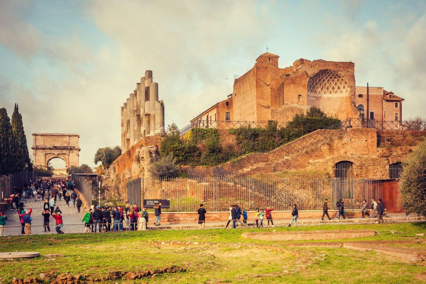 意大利罗马论坛,很敬佩_图1-3