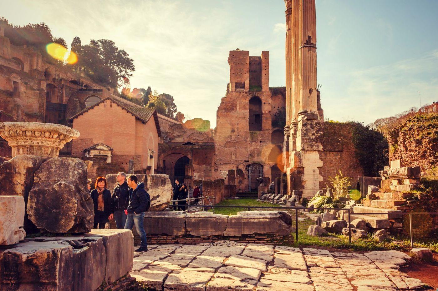 意大利罗马论坛,很敬佩_图1-4