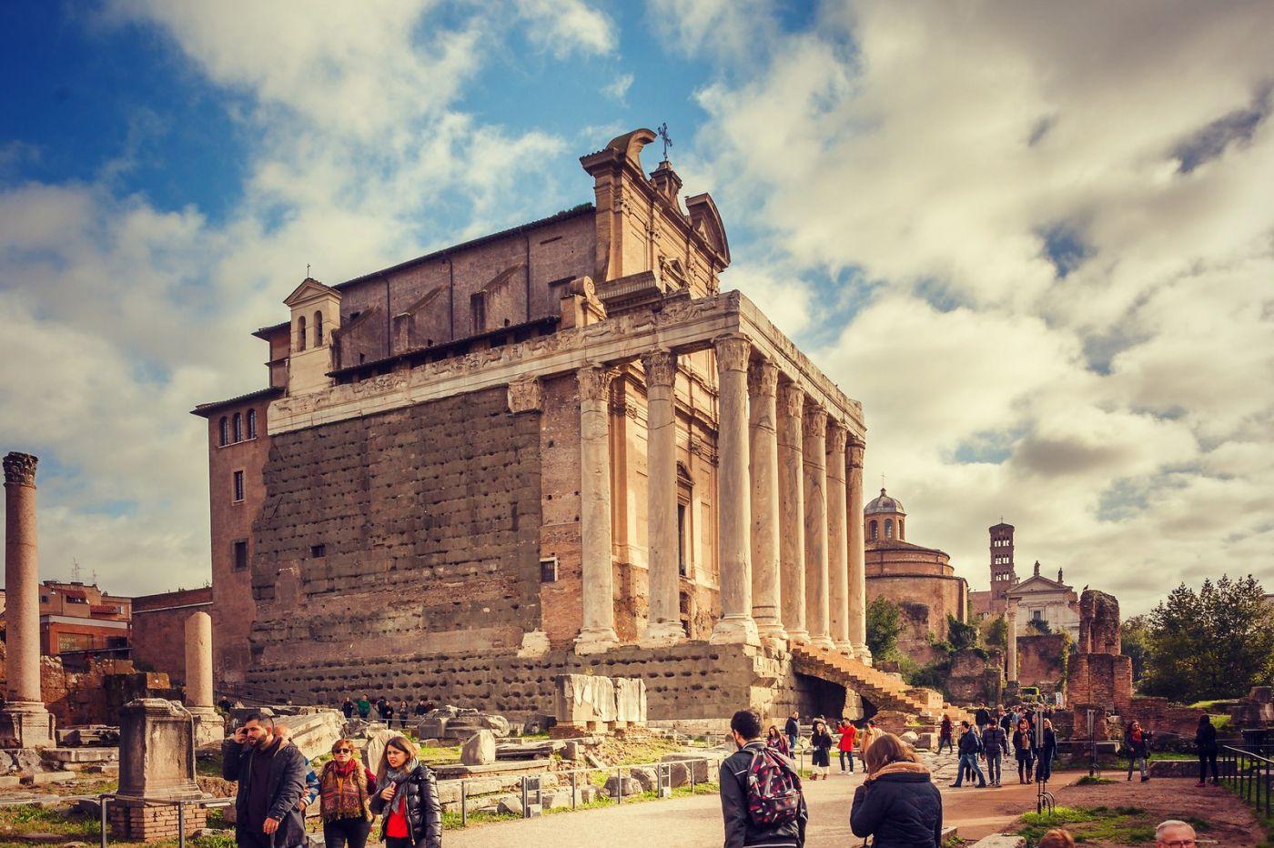 意大利罗马论坛,很敬佩_图1-5