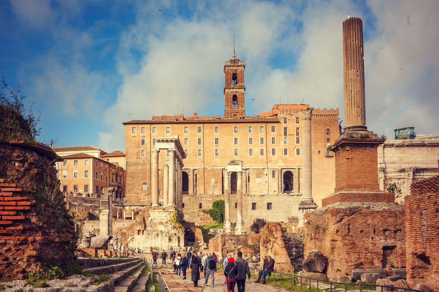 意大利罗马论坛,很敬佩_图1-6