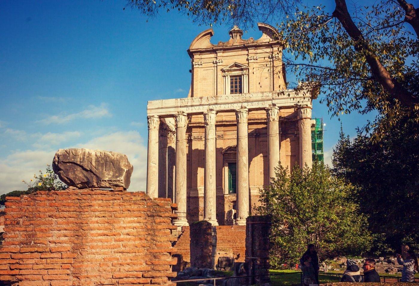 意大利罗马论坛,很敬佩_图1-8