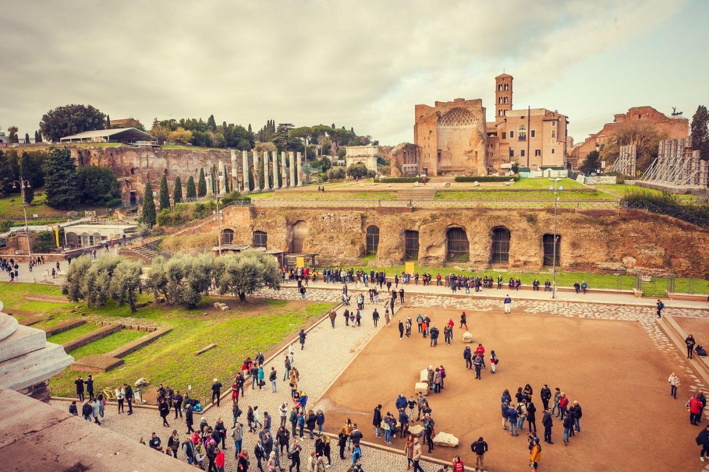 意大利罗马论坛,很敬佩_图1-9