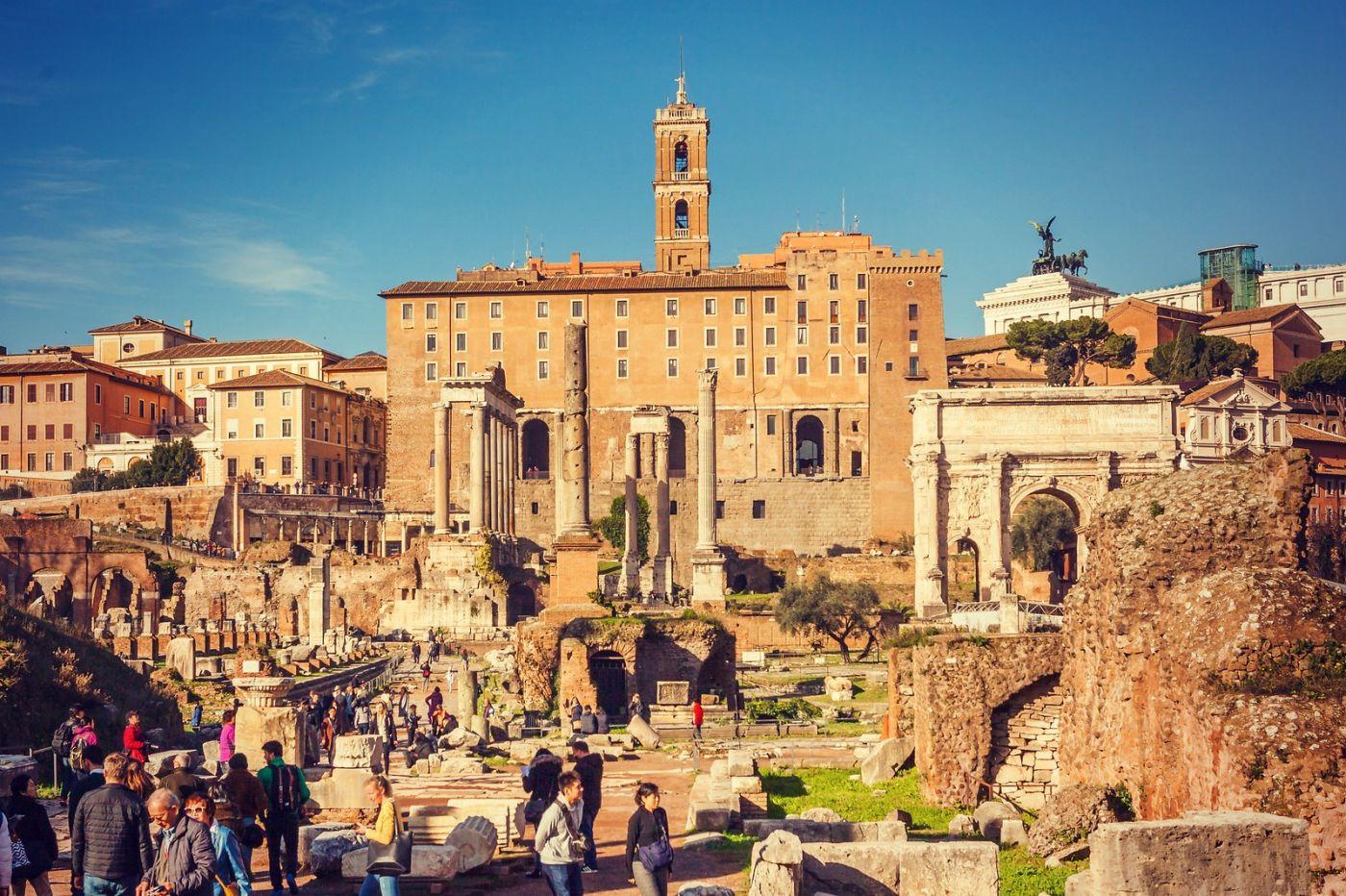 意大利罗马论坛,很敬佩_图1-10