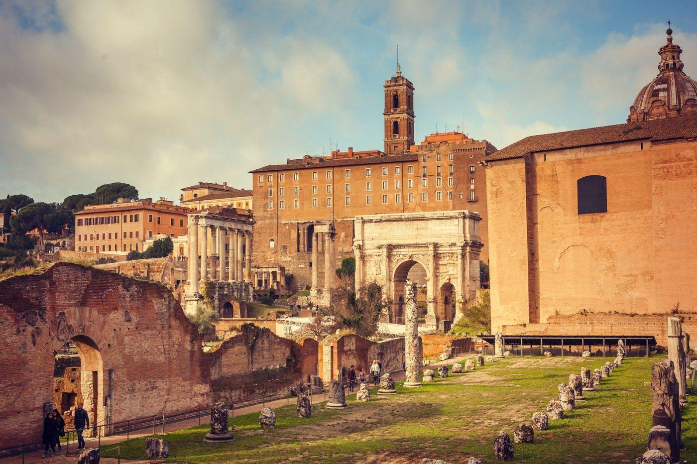 意大利罗马论坛,很敬佩_图1-11