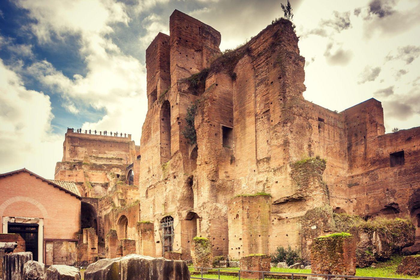 意大利罗马论坛,很敬佩_图1-12