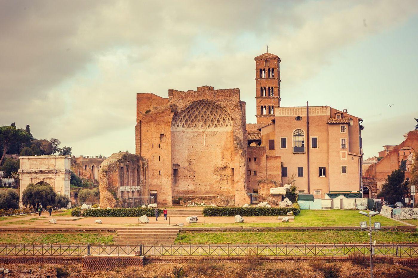 意大利罗马论坛,很敬佩_图1-16