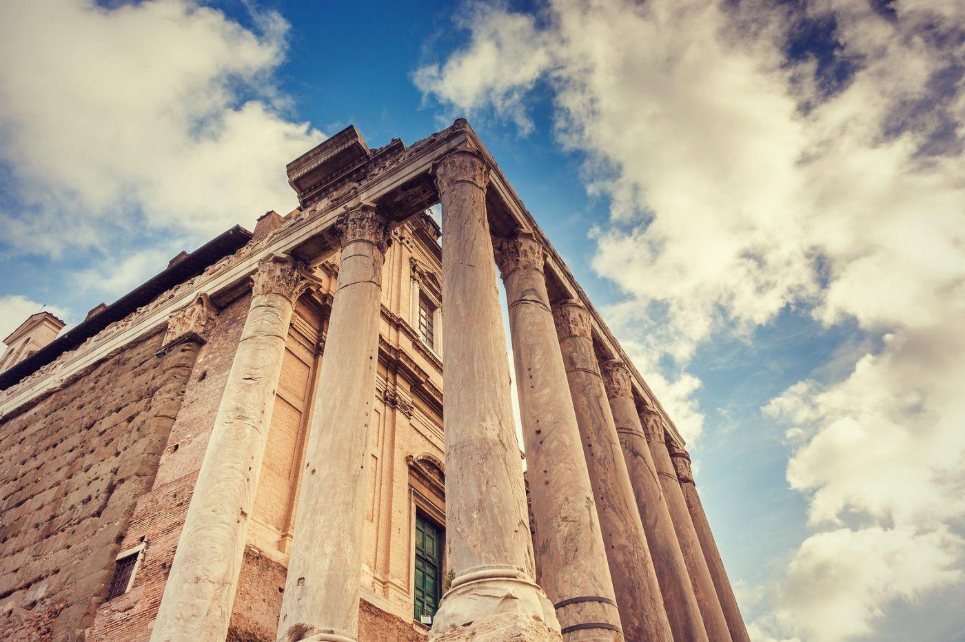 意大利罗马论坛,很敬佩_图1-15