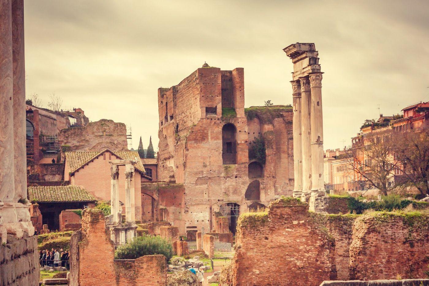 意大利罗马论坛,很敬佩_图1-14