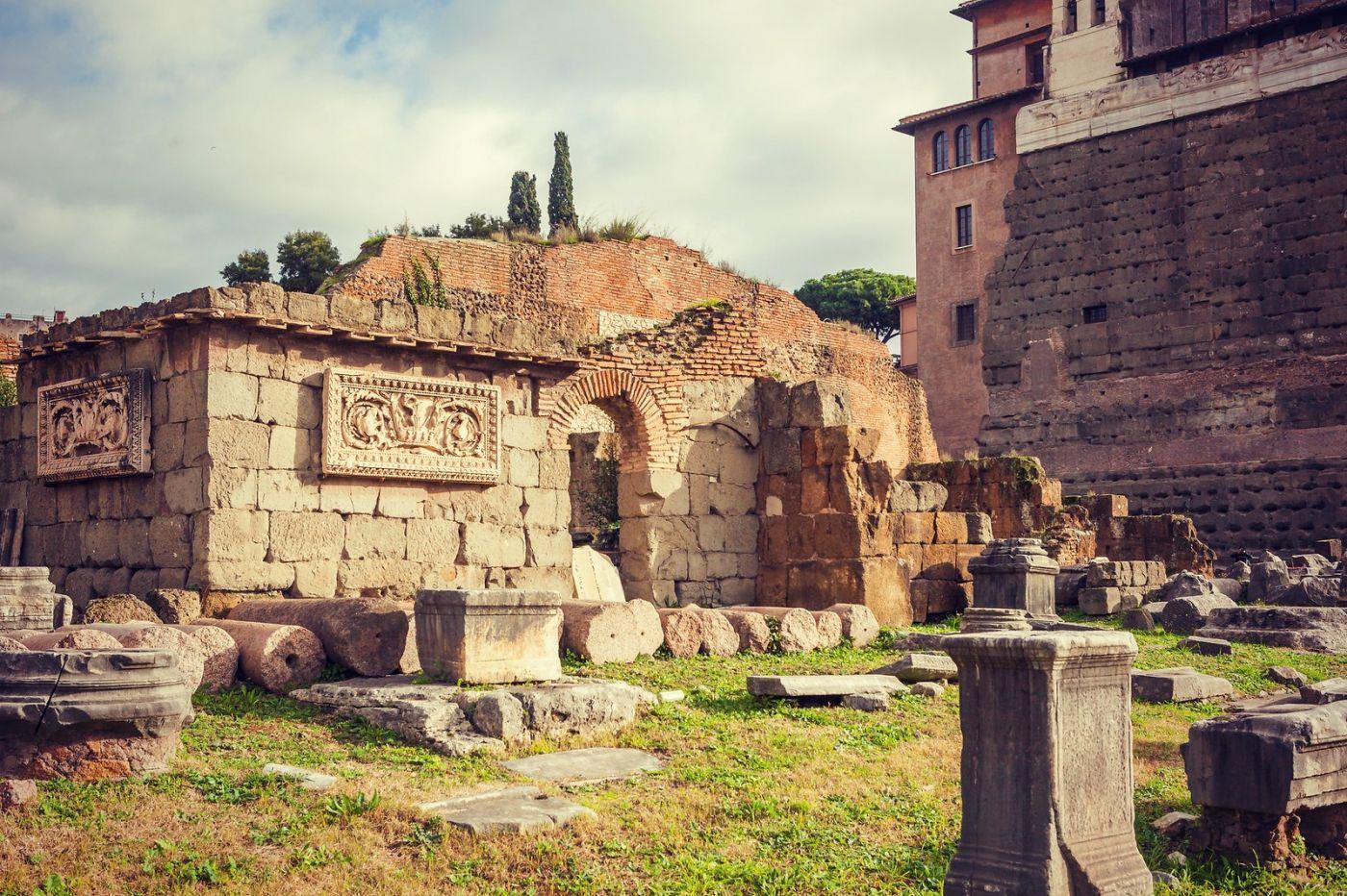 意大利罗马论坛,很敬佩_图1-17