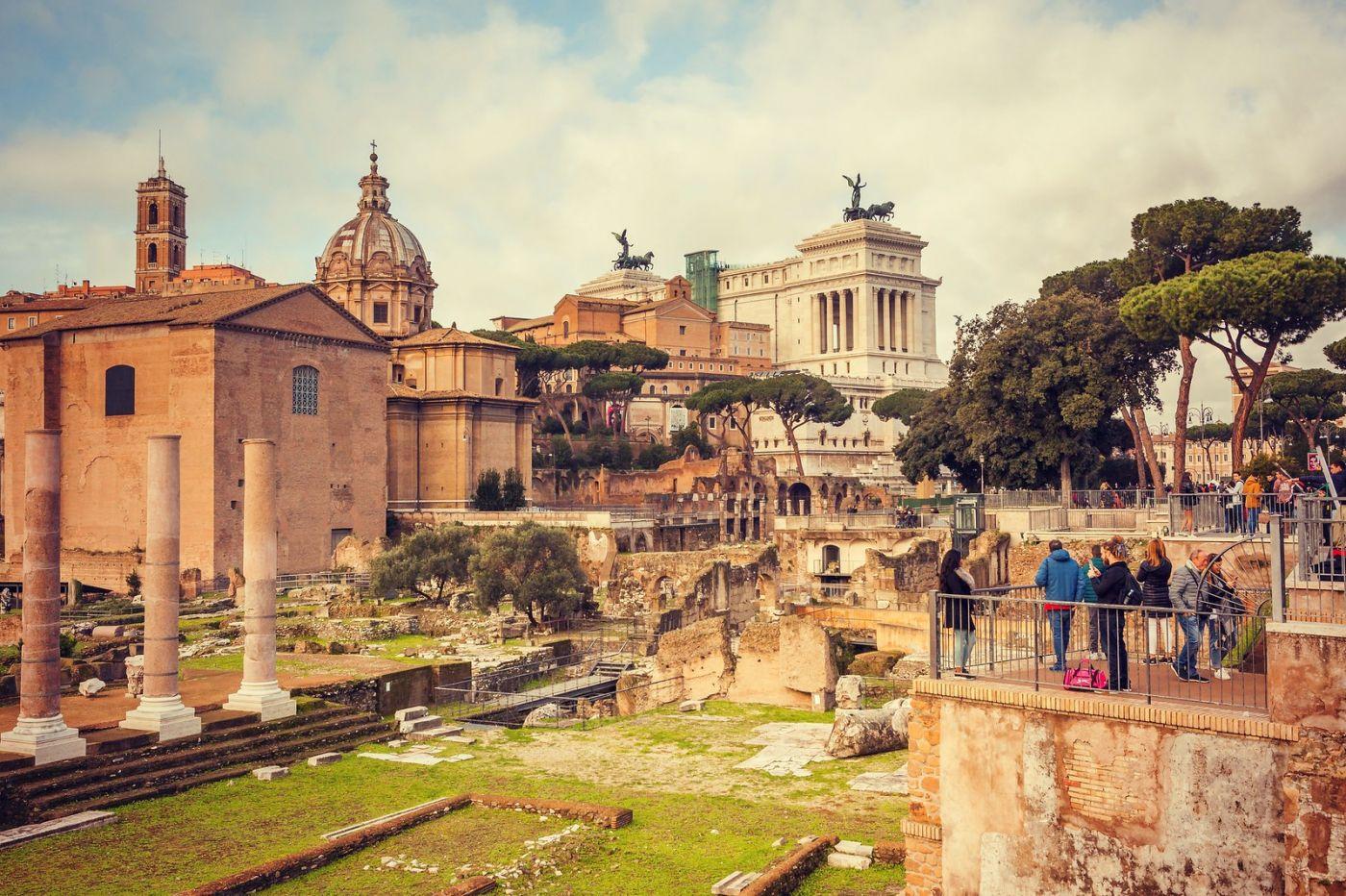 意大利罗马论坛,很敬佩_图1-18
