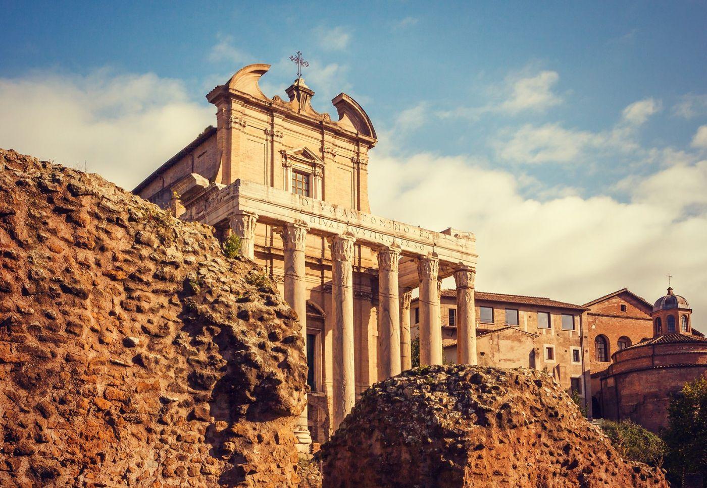 意大利罗马论坛,很敬佩_图1-23